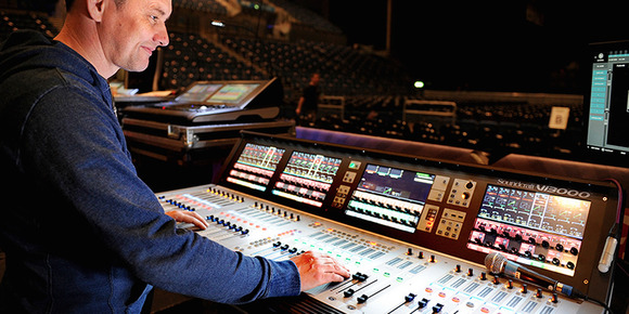 John Delf Moves to New HARMAN Soundcraft Vi Consoles for 5 Seconds of Summer