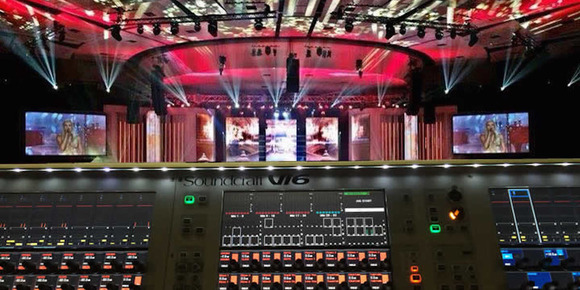 MGG Productions Powers Afrikaans is Groot Music Show with HARMAN's JBL VTX Line Arrays, Crown I-Tech HD Amplifiers and Soundcraft Vi Consoles