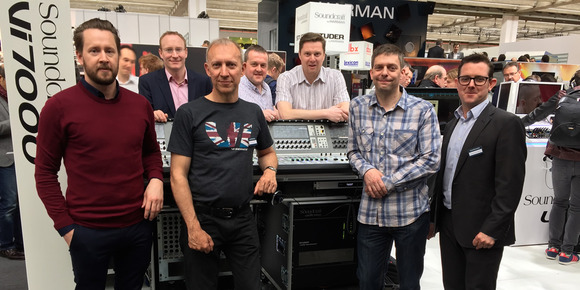 Adlib Audio Takes On One of the First Soundcraft Vi7000 Digital Mixing Consoles