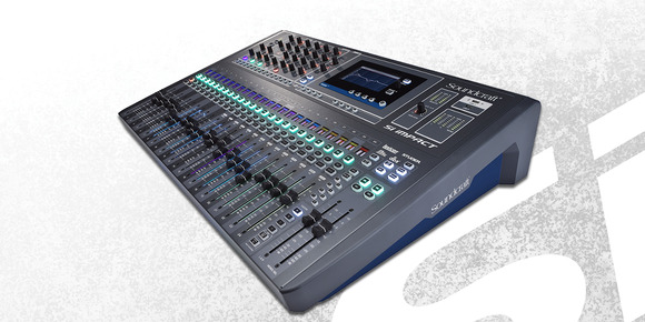 Soundcraft Redefines Affordable Mixing with Si Impact Digital Console