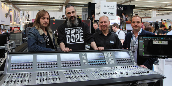 Melkweg Gets On Board with Soundcraft Vi7000 Digital Mixing Console at PL&S Launch