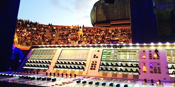 Massive Attack Completes World Tour With Soundcraft Vi4 Digital Audio Console and Realtime Rack