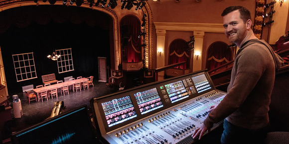Historic Cocoa Village Playhouse Leaps Into Digital With Soundcraft Vi3000 Console