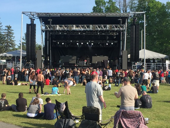 JBL by HARMAN Fuels a Weekend of Heavy Rock at the Rock'n Derby Music Festival