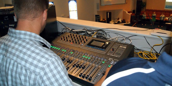 Central Baptist Church Has Big Plans for Small Console with Soundcraft Si Impact