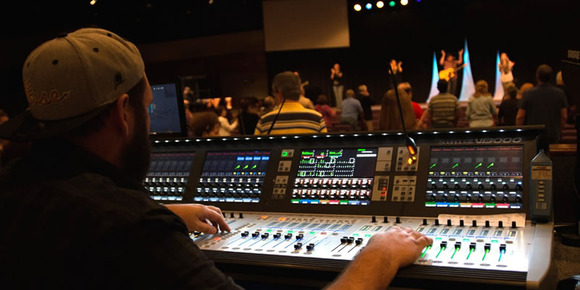 Church On The Rock at the Golden Triangle Upgrades to Soundcraft Vi3000