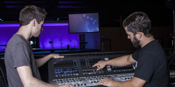 Wesley United Methodist Church Reinforces Its Sound With Soundcraft Vi3000 Digital Console