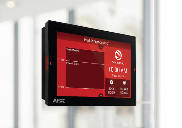 HARMAN Professional Solutions Announces AMX Acendo Book Scheduling Touch Panels