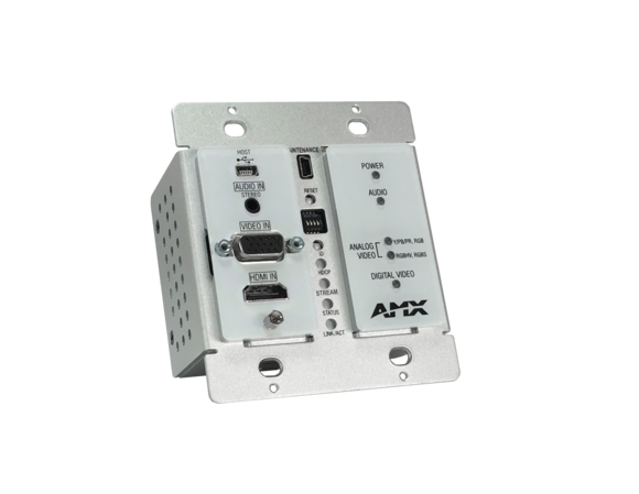 Harman Professional Solutions Expands Popular AMX N2300 Series with AMX N2315 Networked AV Wallplate Encoder