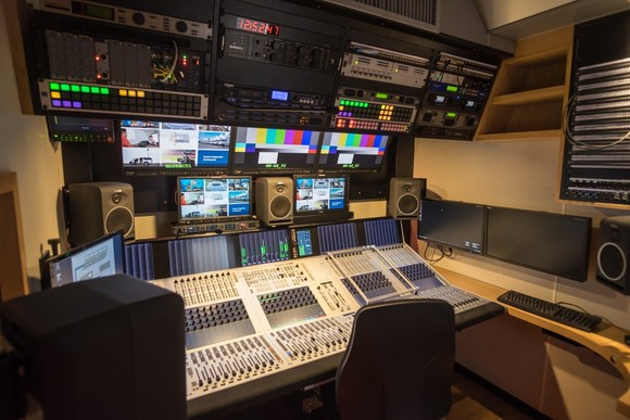 Seoul Broadcasting System Latest 12G-SDI UHD OB Van Features Studer by HARMAN Vista X Mixer