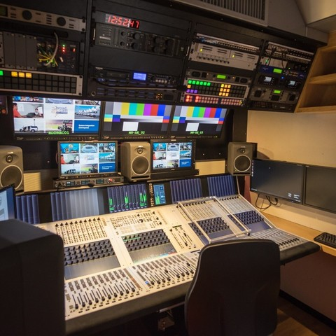 Seoul Broadcasting System Latest 12G-SDI UHD OB Van Features Studer by HARMAN Vista X Mixer