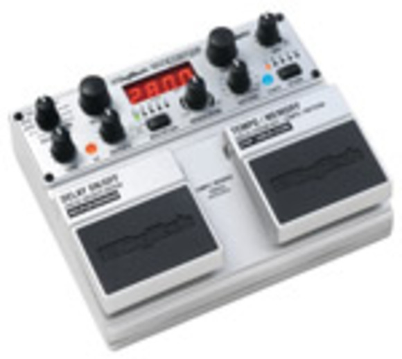 DigiTech® Introduces Revolutionary TimeBender Delay Pedal