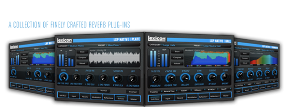 Lexicon® Begins Shipments of the LXP Native Reverb Plug-in Bundle
