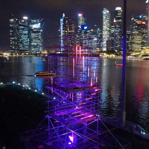 Martin by HARMAN Illuminates SONICtower Installation at Singapore's i Light Marina Bay 2016