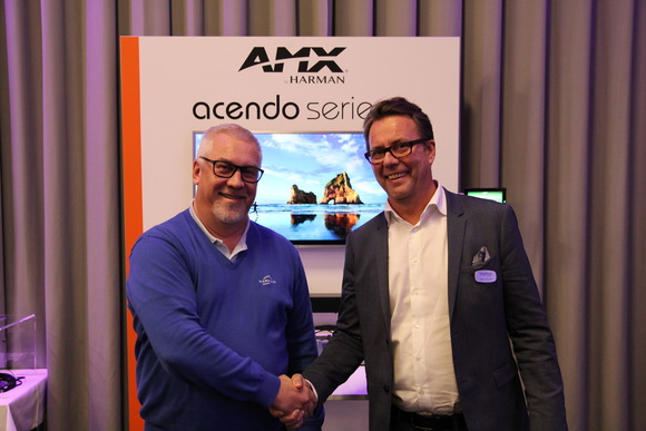 HARMAN Professional Solutions Grants Distribution of AMX in Sweden to Septon Electronic