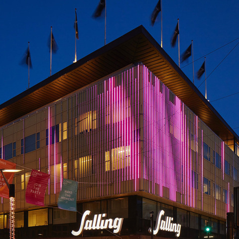 Salling Department Stores Elevate the Shopping Experience with Martin By HARMAN Interactive Media Facades