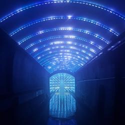 Suyanggae light tunnel south korea small square