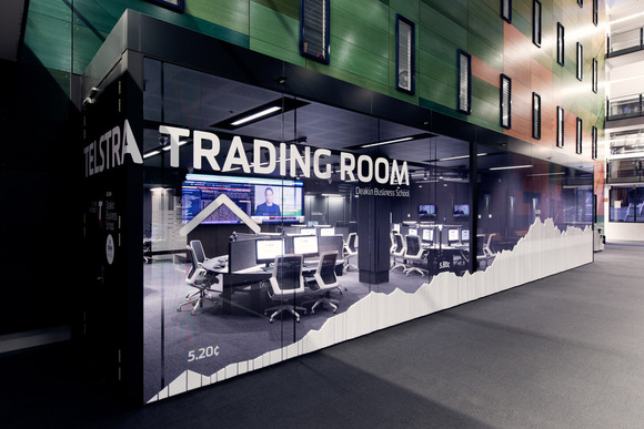 Telstra trading room email