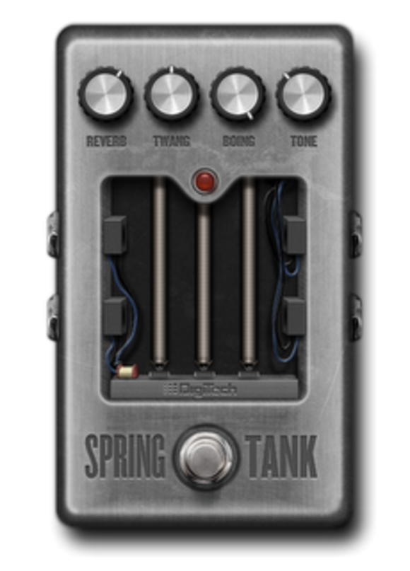 DigiTech Launches New Spring Tank Reverb Pedal