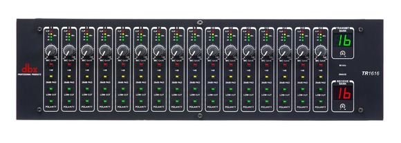 dbx Debuts Its TR1616 BLU Link I/O at InfoComm 2012