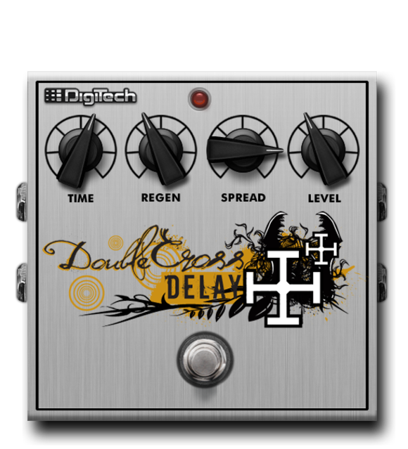 DigiTech Introduces Its Double Cross Delay For iStomp Downloadable Pedal