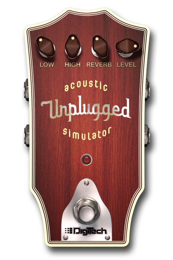 DigiTech Introduces Its Unplugged Acoustic Simulator for the iStomp™ Downloadable Pedal