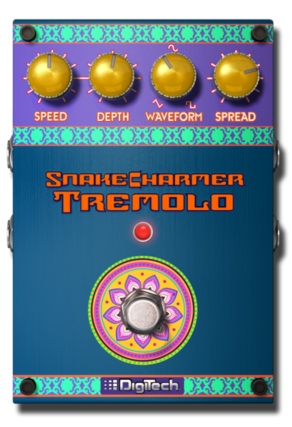 """DigiTech """"Stomp-tember 2012"""" Continues With the Introduction of Its Snake Charmer Tremolo for the iStomp™ Downloadable Pedal"""