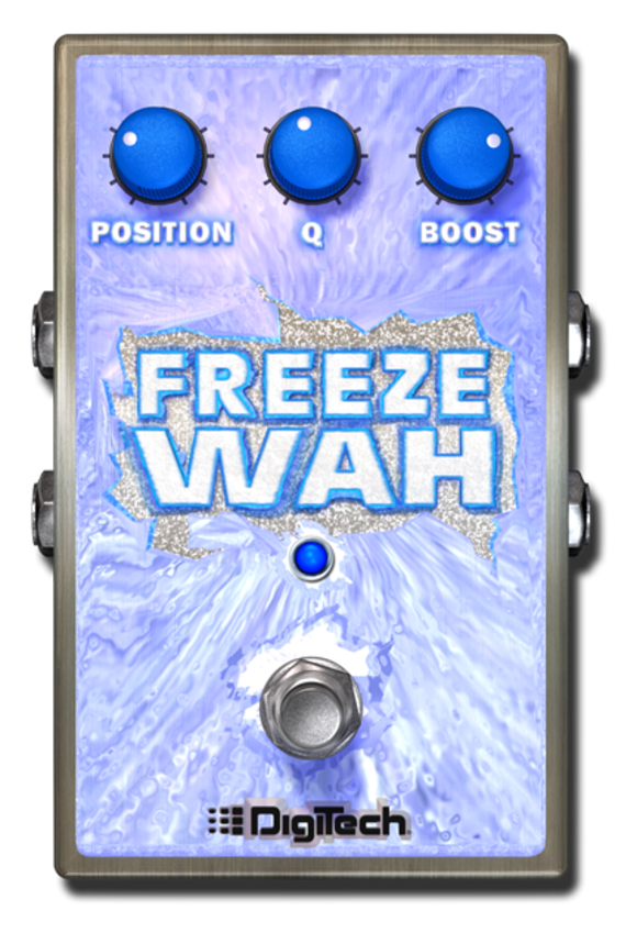 DigiTech Announces the Freeze Wah Fixed-Position Wah Effect for the iStomp™ Downloadable Pedal