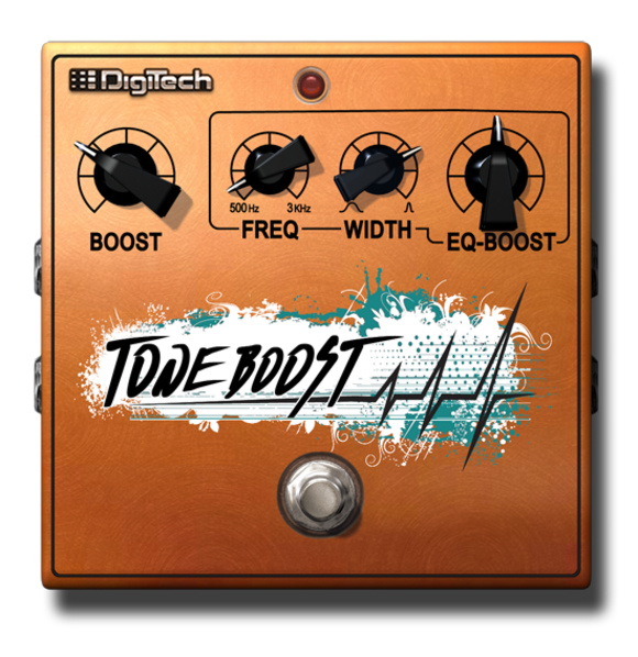 It's Two Boosts In One! HARMAN's DigiTech Introduces the Tone Boost Dual-Boost Pedal for the iStomp