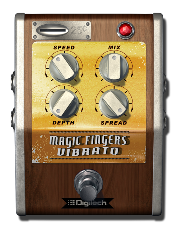DigiTech Introduces Magic Fingers Vibrato for the iStomp Programmable Pedal