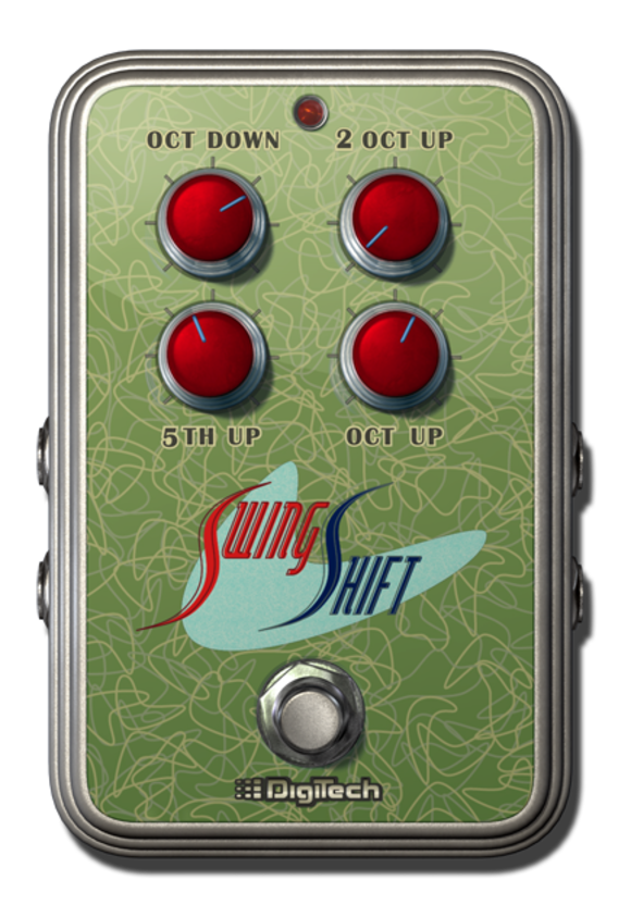 DigiTech Shifts Into High Gear with the Debut of its Swing Shift e-pedal for the iStomp