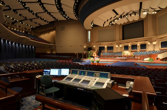 Crowne Centre Auditorium At Pensacola Christian College Upgrades With HARMAN's Studer Consoles and BSS Audio Processors