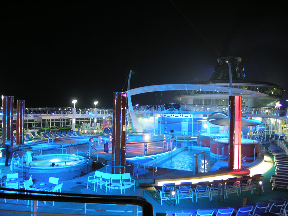 Royal Caribbean International's Freedom of the Seas | Martin Lighting