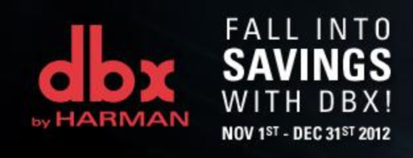 HARMAN Professional launches 'Fall into Big Savings' Promotion nationwide in the US on November 1, 2012