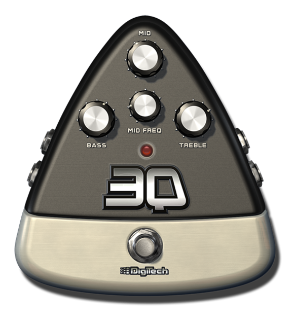 Get Your Freq On: HARMAN's DigiTech Debuts Its 3Q Three-Band EQ E-Pedal for the iStomp