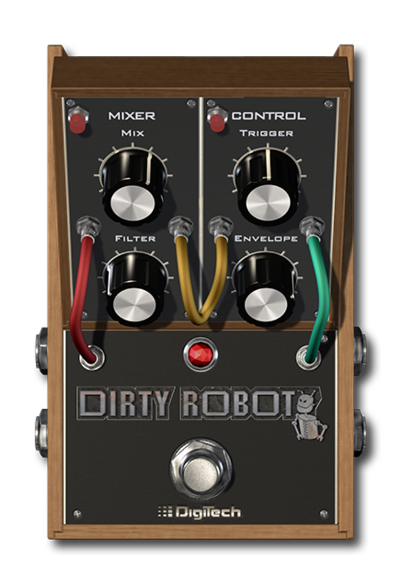 DigiTech New Dirty Robot Synth Pedal for the iStomp™ Offers Sub-Harmonic and Filter Synthesis