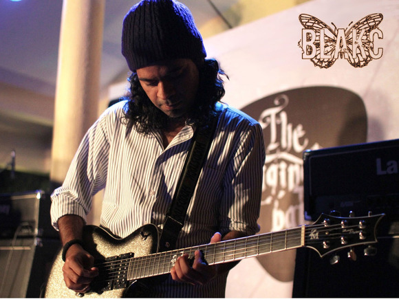 Reinhardt Dias of Indian Band Blakc Leans On HARMAN's DigiTech Whammy Pedal for Epic Sounds