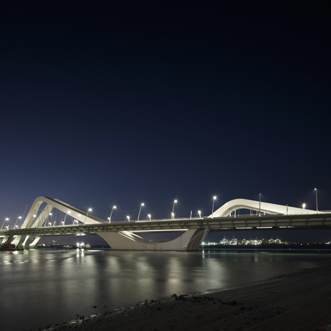 Martin Professional Lights Sheikh Zayed Bridge, Abu Dhabi