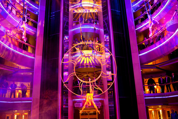 Martin Lighting and HARMAN Professional Audio Components Go on a Sea Cruise with Royal Caribbean International