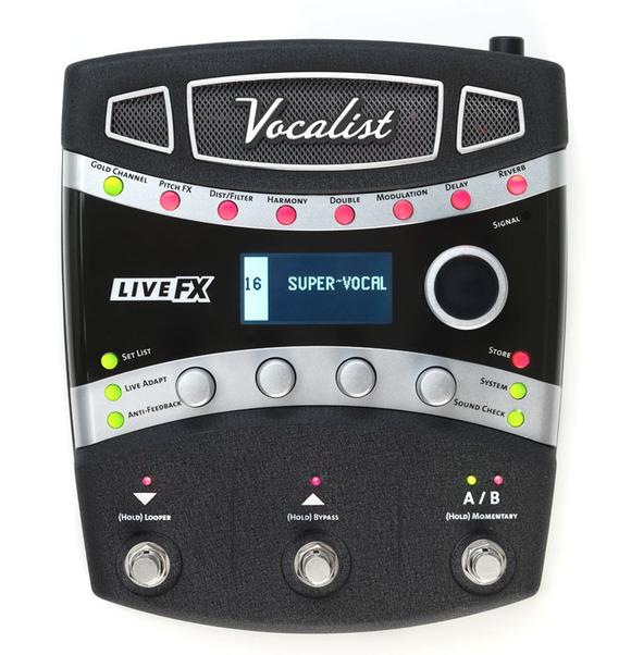 DigiTech Now Shipping Vocalist Live FX Effect Processor