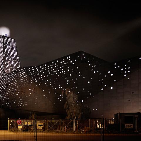 KARA/NOVEREN: The Energy Tower that lights up the night skies