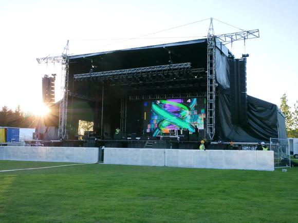 冰岛 Secret Solstice 音乐节