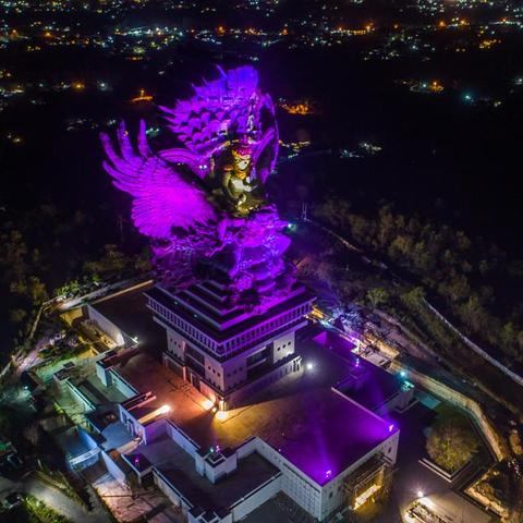 Garuda Wisnu Kencana Statue Comes To Life at GWK Cultural Park with Martin by HARMAN