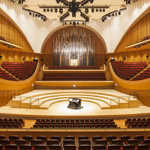 Seoul's Elegant Lotte Concert Hall Upgrades to A State-of-the-Art Martin By HARMAN Lighting Solution