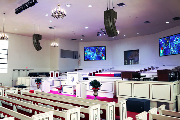 Mt. Moriah Baptist Church Elevates Worship Experience with HARMAN Professional Solutions