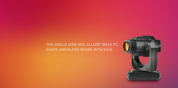 HARMAN Professional Enhances Martin MAC Allure Family with New MAC Allure Wash PC Featuring Integrated P3 Control