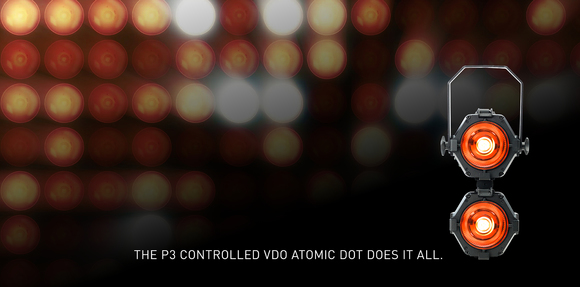 HARMAN Professional Introduces Martin VDO Atomic Dot Fixtures Offering Lighting Designers Boundless Creative LED Potential