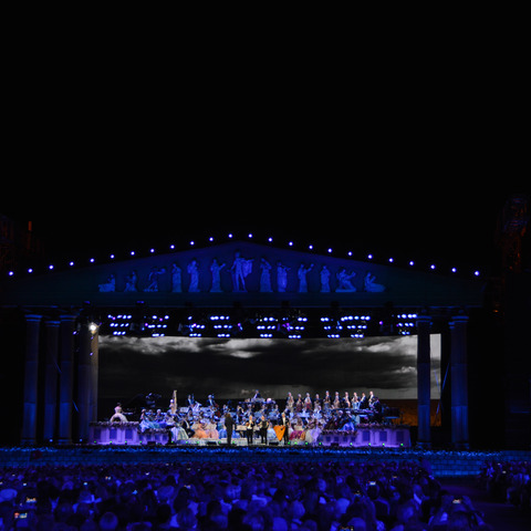 André Rieu And The Johann Strauss Orchestra Light Up Audiences, Stage With Martin Lighting