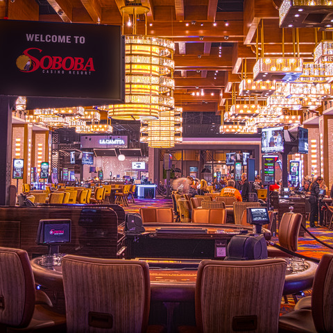 Soboba Casino Resort Goes All-In with State-of-the-Art HARMAN Professional Solutions Networked AV System