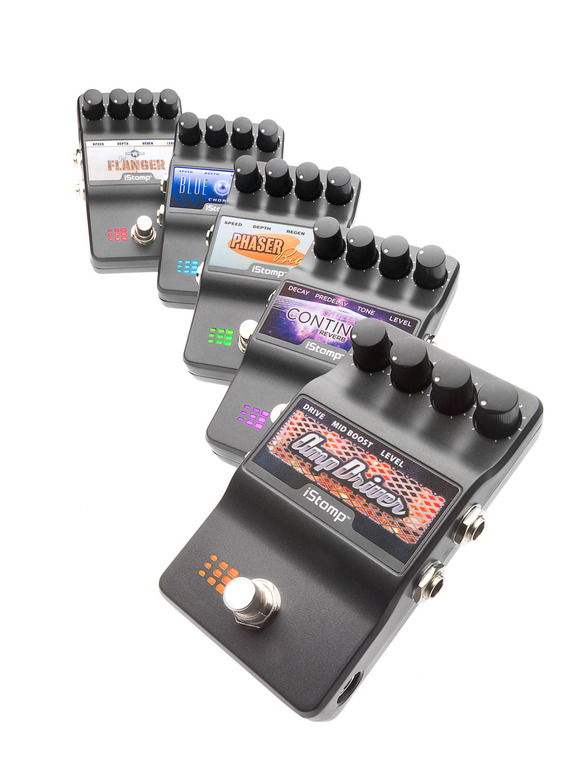 DigiTech Now Offering Free E-Pedals for the iStomp™ Downloadable Pedal